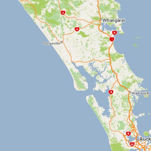 Little Barrier Island Map Little Barrier Island Nature Reserve (Hauturu o Toi): Places to go