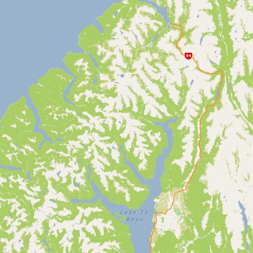 Map Of New Zealand Queenstown.Queenstown Area Queenstown Wakatipu Area