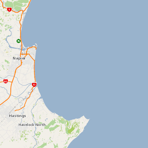 Hastings New Zealand Map.Arcgis Airsheds