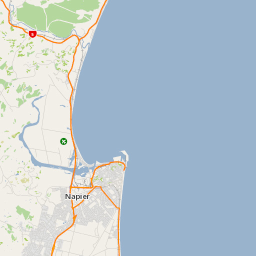 Napier New Zealand Map.Ahuriri Estuary Places To Go In Hawke S Bay