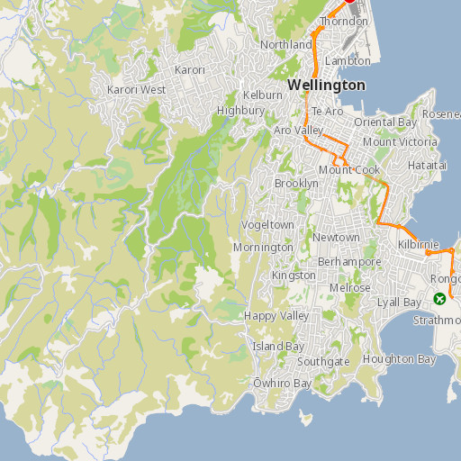 Map Of Wellington New Zealand.Wremo Tsunami Evacuation Zone Maps
