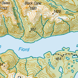 Brod Bay campsite: Fiordland National Park, Fiordland region